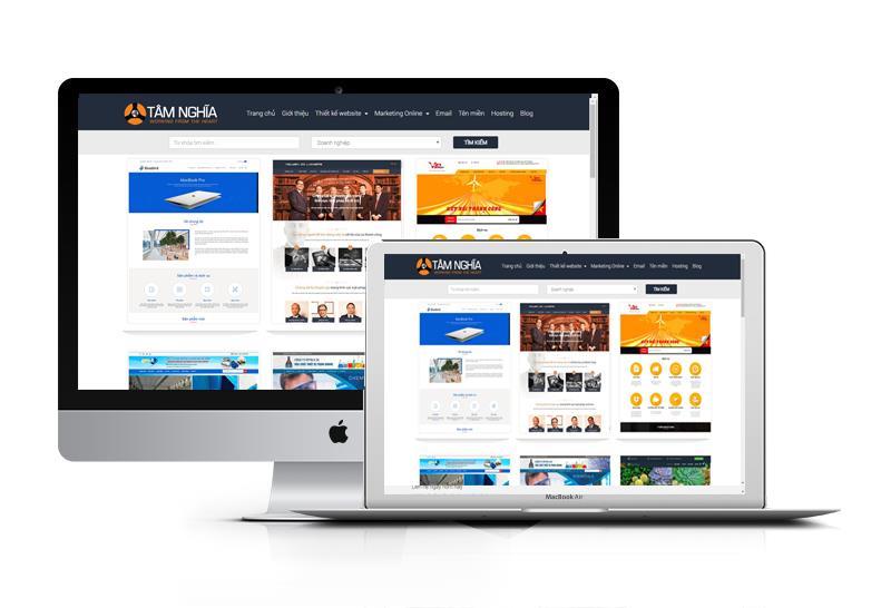 Thiết kế web Doanh Nghiệp - Công Ty