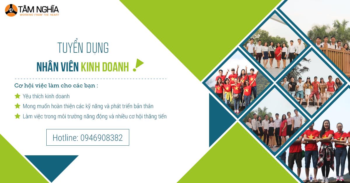 Tuyển nhân viên kinh doanh marketing online tại Hà Nội