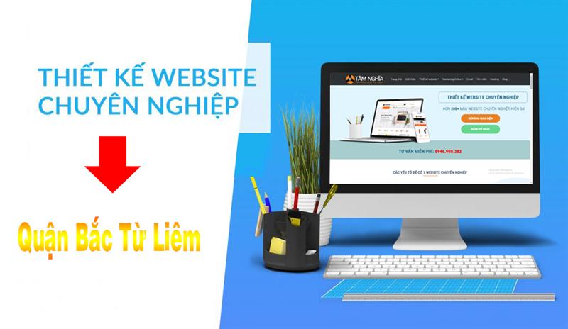 Thiết kế web tại quận Bắc Từ Liêm