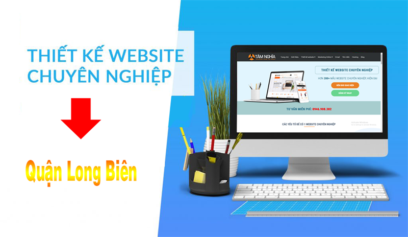 Thiết kế web tại quận Long Biên