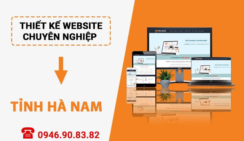 Thiết kế website chuyên nghiệp tại Tỉnh Hà Nam