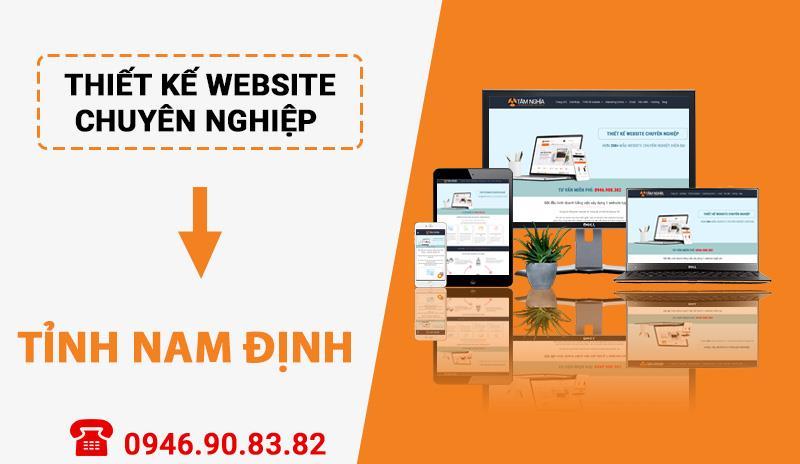 Thiết kế website chuyên nghiệp tại Tỉnh Nam Định