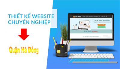 Thiết kế web tại quận Hà Đông