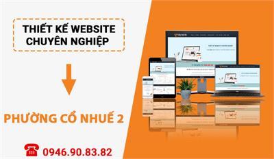 Thiết kế website chuyên nghiệp tại Phường Cổ Nhuế 2 - Bắc Từ Liêm